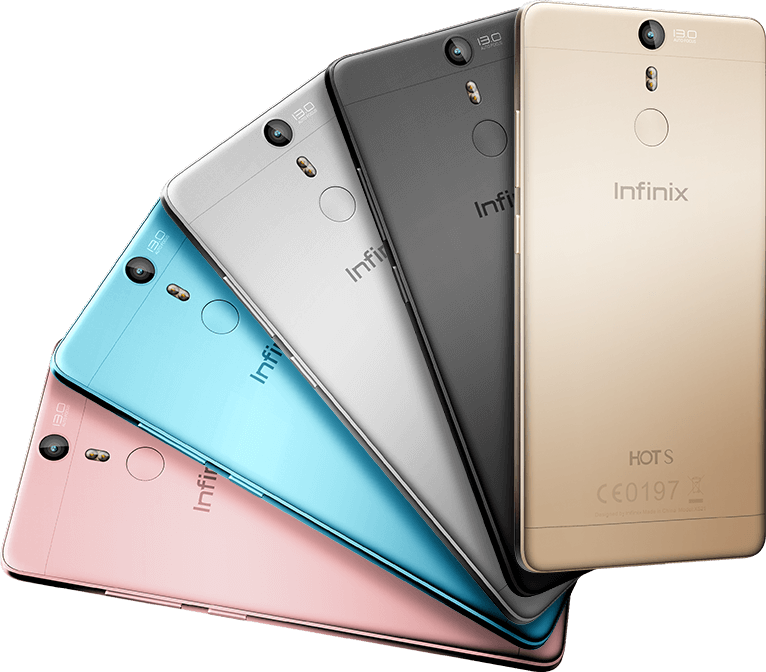 infinix hot s different colors